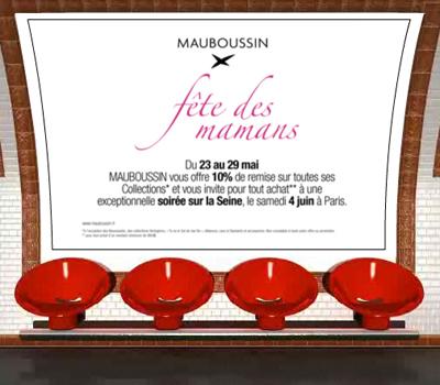 Bijoux Mauboussin à Petits Prix pour la Fête des Mères