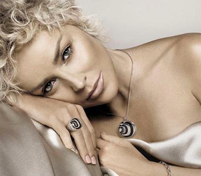Sharon Stone, nouvelle égérie de Damiani joaillerie