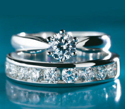 Solitaire et Alliance Diamants Maty