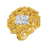 Bague Diamants Jaunes Grand Frisson de Chaumet
