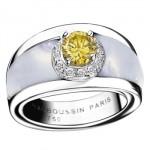 Bague Tu es mon Soleil avec Diamant Jaune par Mauboussin