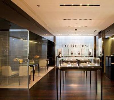 Boutique De Beers aux Galeries Lafayette