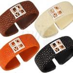 Bracelets Pop Love en Galuchat de Miss Back