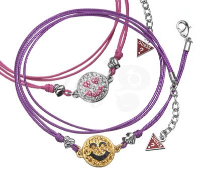 Bracelets Happy Face de Guess Bijoux