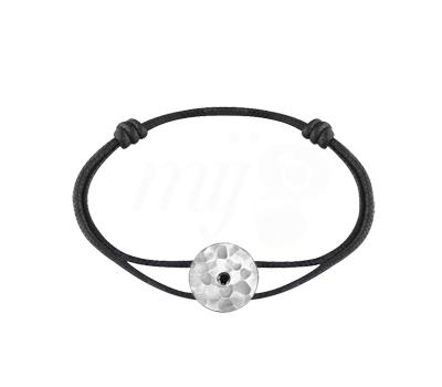 Bracelet Pi Chinois Cordon et Argent - Dinh Van