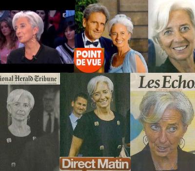 Boucles d'Oreilles de Christine Lagarde