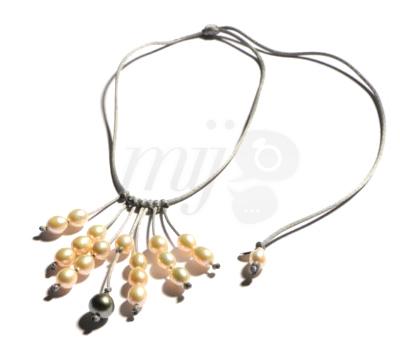Collier Perles en Pampilles - Jll Pearl