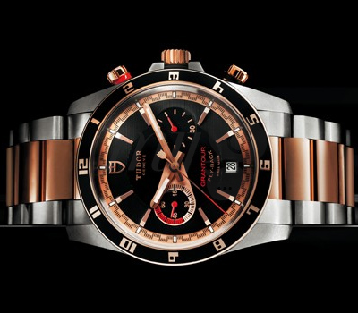 Montre Tudor Chrono Fly Back Or Rose