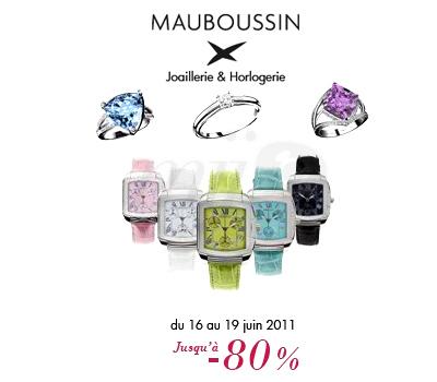 Vente Presse Privée de Bijoux Mauboussin