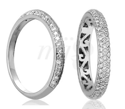 Alliances Femmes en Diamants Ocarat