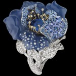 Bague Bleu Nuit - Bal des Roses Dior