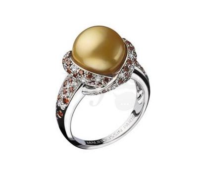 Bague Perle d'Or Mauboussin en Promotion
