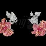 Boucle d'Oreilles Bal de Mai - Bal des Roses Dior