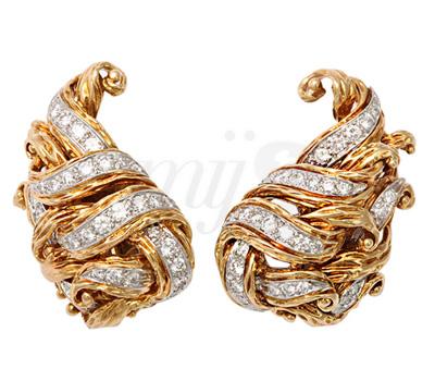 Boucles d'Oreilles Clip Tiffany & Co sur 1stdibs.com