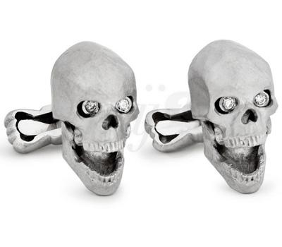 Boutons de Manchette Skulls - Ralph Lauren
