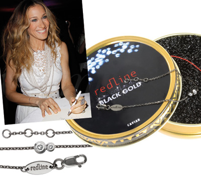 Sarah Jessica Parker en Bracelet Black Gold Redline