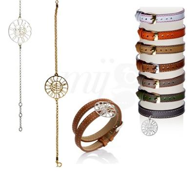 Bracelets Cuirs et Chainette d'Antje