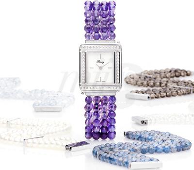 Bracelets Montres en Pierres Fines de Poiray