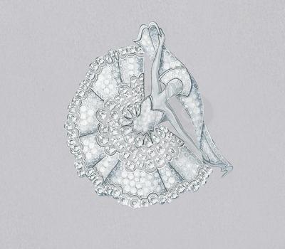Clip Diamond Dancer - Bal du Palais d'hiver