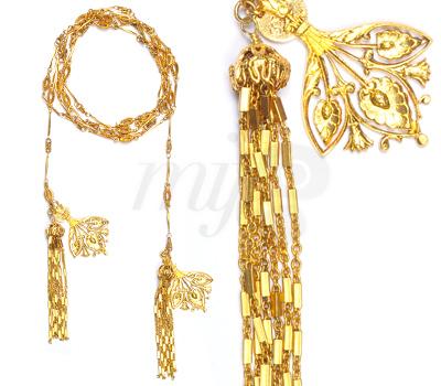 Collier Sautoir Papyrus de Schade Jewellery