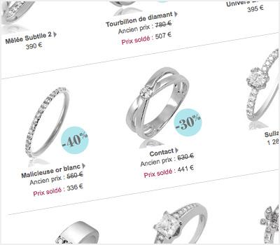 Conseils d'achat de bijoux diamant sur Internet