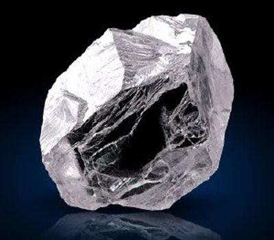 Constitution du diamant brut