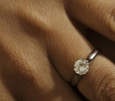 Critères d'achat bague avec diamant
