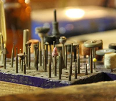 Meules et Outils de Joailliers