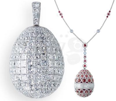 Oeufs Fameux de Fabergé Haute Joaillerie
