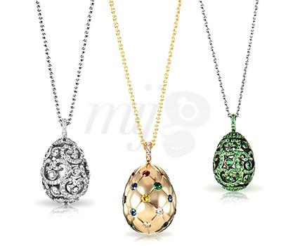 Oeufs Frissons de Fabergé - Petite Joaillerie