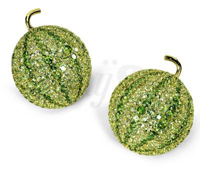Boucles d'Oreilles Melon Happy Sweet Summer - De Grisogono