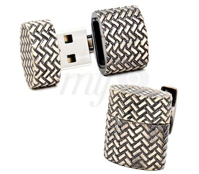 Boutons de Manchette USB