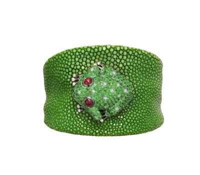 Bracelet Galuchat Grenouille Happy Sweet Summer - De Grisogono