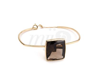 Bracelet Quartz Fumé Emmanuel Aubry - A Fine Jewel