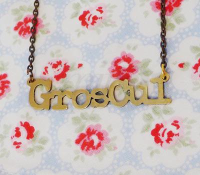Collier GrosCul par Félicie Aussi.