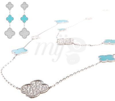 Bijoux Alhambra Princesse Charlène par Van Cleef & Arpels