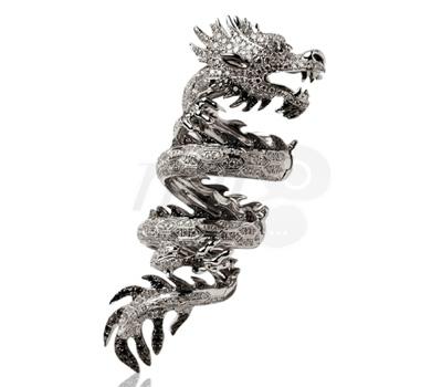 Bague Articulée Élise Dray Dragons Précieux