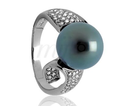 Bague Perle de Tahiti - Ocarat.com