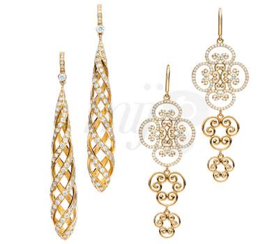 Boucles d'Oreilles Luce et Goldoni Venizia - Paloma Picasso Tiffany & Co
