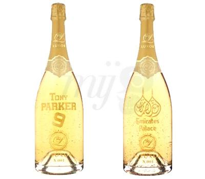 Bouteilles de Champagne Luxor Gravées