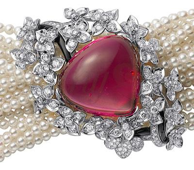 Bracelet Rubellite Sortilège - Cartier haute Joaillerie
