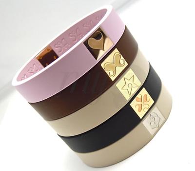 Bracelet en Caoutchouc Soa Création