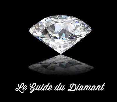 Diamant blanc en photo