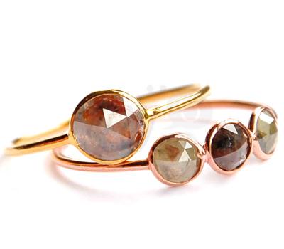 Bijoux Diamants Taille Ancienne - Perle de Lune