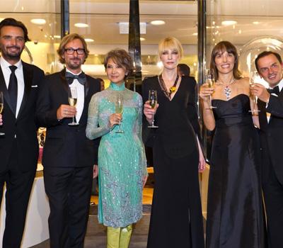 Personnalités - Inauguration de la Maison Van Cleef & Arpels Hong Kong