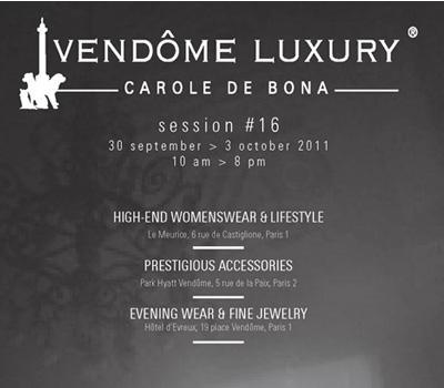 Vendôme Luxury Septembre 2011