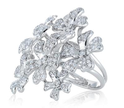 Bague Wildflowers Diamants - De Beers