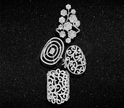 Bagues Pavées de Diamants - Lisonia Joaillerie
