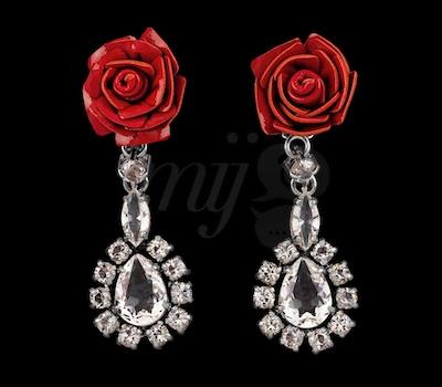 Boucles d'Oreilles Roses - Prada Joaillerie