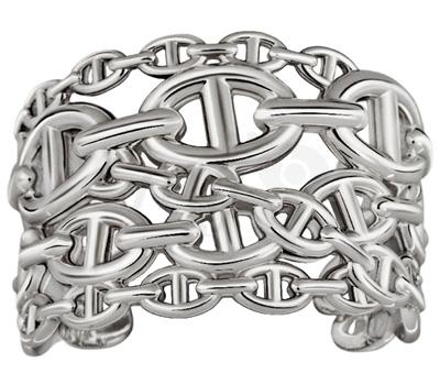 Bracelet Chaine Argent - Hermès été 2012